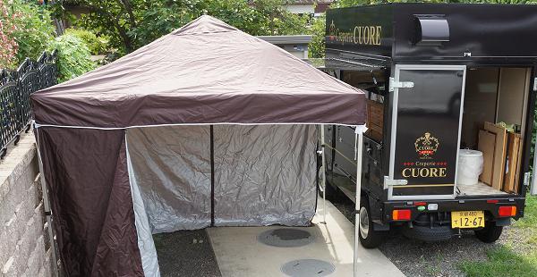マルシェ・イベント出店だけじゃない!?移動販売でテントを120%活用する方法5つ